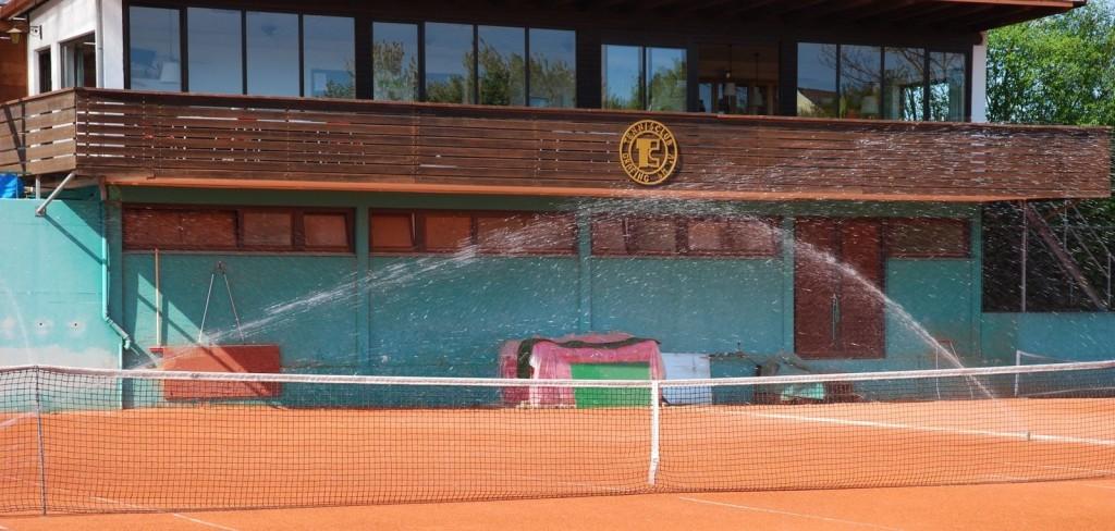 Clubheim im Grafinger Sportzentrum