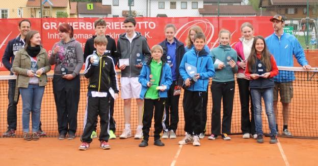 Siegerehrung 1. Kerndl Cup 2013