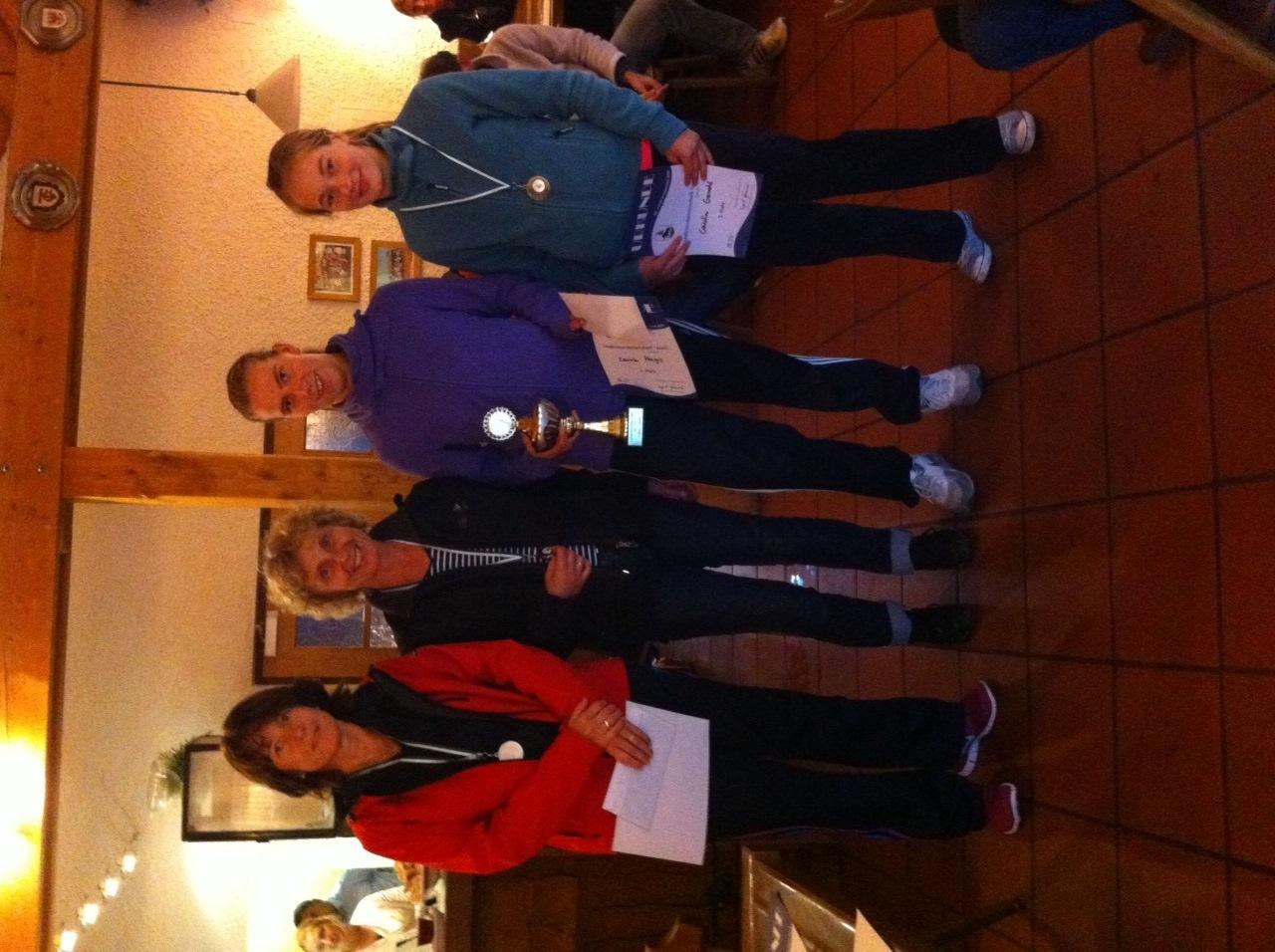 Sieger Damen Landkreismeisterschaft Ebersberg 2014