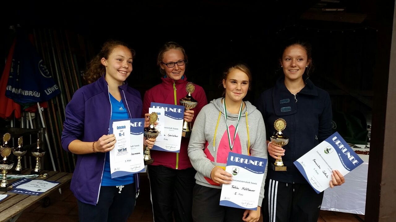 Sieger Mädchen Landkreismeisterschaft Ebersberg 2014