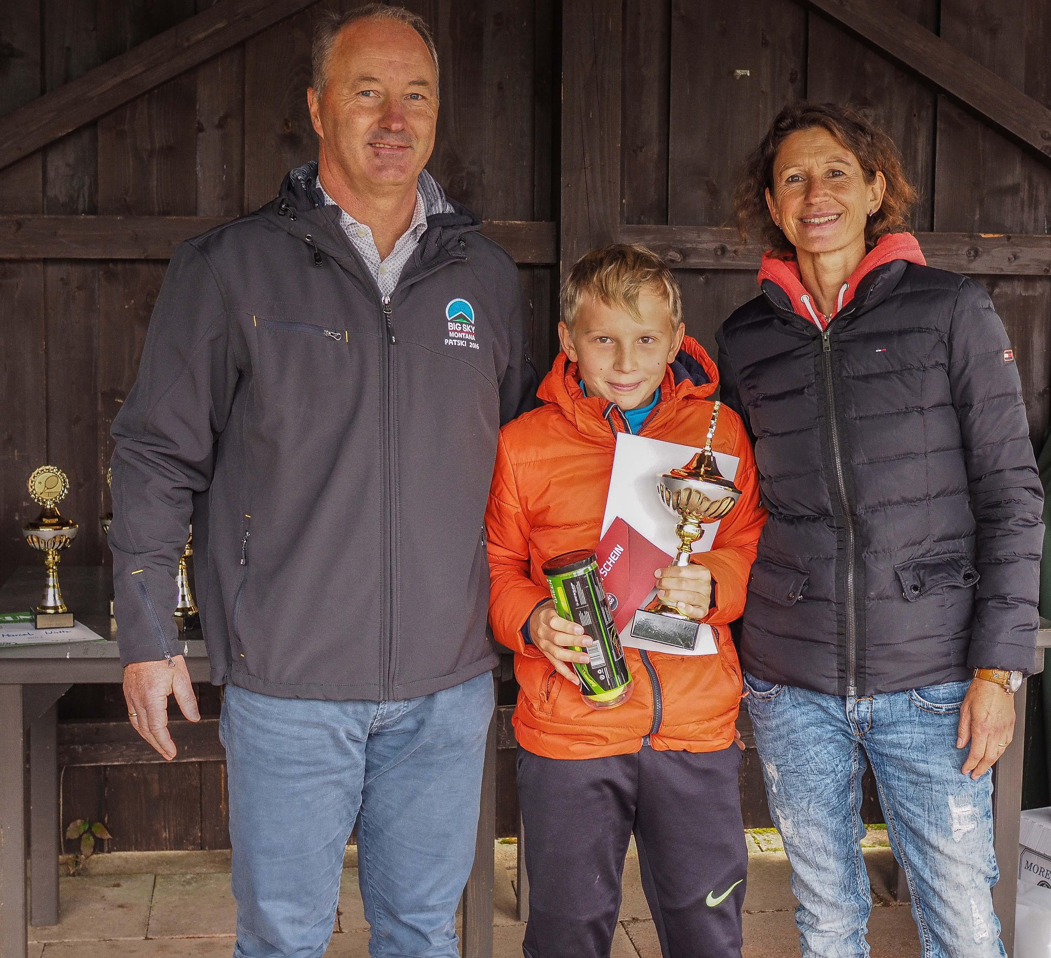 Sieger U12 männlich Landkreismeisterschaft Ebersberg 2017